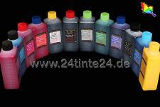 12 x 500ml pfi-306 pfi-706 Ink Inchiostro Pigmento Canon imagePROGRAF ipf8400 ipf9400