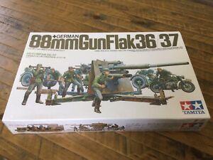 TAMIYA 1/35 GERMAN 88MM GUN FLAK 36/37 TA35017