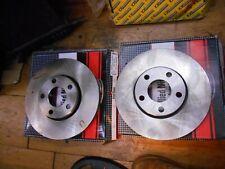 Audi 100, Quattro, Cabriolet, Avant, A4, A6 Pair of NOS Nippon Front Brake Discs