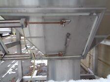 400 Gallon Stainless Steel Hopper Cone Tank Food Grade