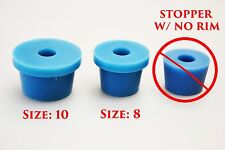 Size 10 Rubber Stopper Single Airlock Hole Accepts Funnel Filter Holder Flask