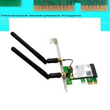 Wireless 9260 2030Mbps Dual-Band 802.11ac BT5.0 Desktop PCI-E WiFi Adapter