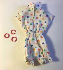Vintage Darci Doll Outfit Rare Sunshiner Romper w Bracelets Kenner Dana Erica