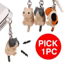 PICK 1pc Japan chocon to plug Cat Cell Phone Anti Dust Earphone Plug Cap Pendant