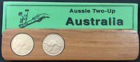1956 Aussie Two-Up Game set w repro Australian pennies. Original coins available