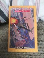 Cobra Command Sega CD Genesis Instruction Manual with Registration NO GAME