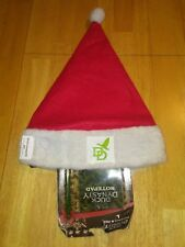 Duck Dynasty Red Christmas Santa Hat and Notepad/Pen Set A&E