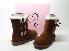 143 Girl Arlington Womens Size 6 Tan Fabric Winter Boots