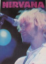 NIRVANA Postcard LIVE Kurt Face OLIVER BOOKS UK retail 1994 ONE ONLY #OB - 068