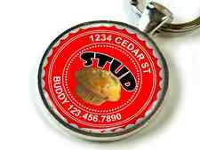 Stud Muffin red Custom cute funny 11 colors pet dog cat tag id
