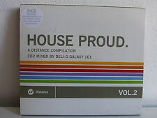 CD ALBUM HOUSE PROD A distance compilation CD2 Mixed by DELI G GALAXY 101 DI2002