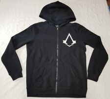 Assassin's Creed Syndicate full zip hoodie men sz M black/white official license
