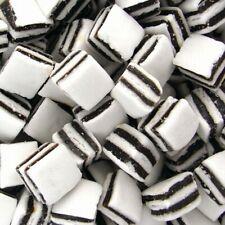 Taveners Black & White Liquorice Mints CHOOSE FROM 200grams To 1Kilogram