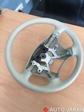Nissan Elgrand OEM Steering Wheel - Beige