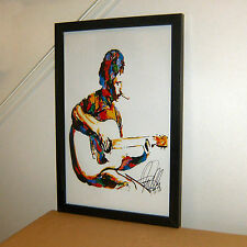 Jim Croce Time In A Bottle I Got a Name Guitar Music Poster Print Wall Art 11x17