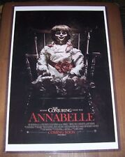 Annabelle 11X17 Movie Poster Before the Conjuring Movie Poster