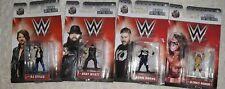 4 WWE  Nano Diecast Figures Ultimate warrior, Kevin Owens, AJ Styles, Bray Wyatt