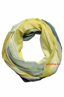 Schal Loop mit frischem Streifen Muster schönes und leichtes Tuch weich