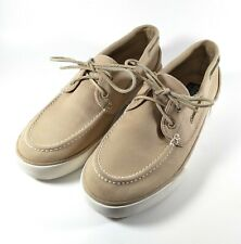 Polo Ralph Lauren Sander Canvas Low Top Boat Shoes