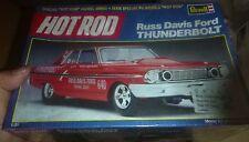 REVELL 1964 FORD THUNDERBOLT RUSS DAVIS GAS RONDA 1/25 Model Car Mountain FS