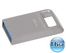 KINGSTON 16GB 16G Data Traveler DT MICRO 3.1 USB 3.0 Memory Flash Drive 100MB/s*