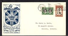 Canada Fdc King George Vi & Queen Elizabeth Visit To Canada May 15 1939 - Z457
