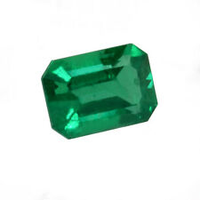 1.06 ct Colombia Natural Emerald Cut ~6.5 x 5.5 Loose Green Gemstone   614_VIDEO