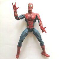 "Marvel Legends 2002 6"" Super Poseable Spider-man Movie Articulated Action Figure"