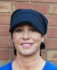 Cancer Hat Bandana Hat ® 3-Way Visor Inner Cap Denim Scarf Sun Protection  New