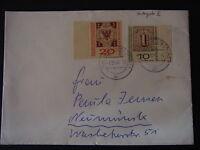 Bedarfsbrief BRD Mi.-Nr. 310-311 MiF Schwäbisch Gmünd-Neumünster - b6259