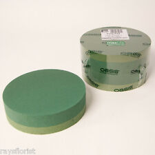 Posy Pad Ideal Floral Foam Backed Round Shape Posie Smithers Oasis Floristry