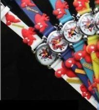Reloj de Pulsera Spiderman Niño/Niñas. Blanco Correa. Regalo de Navidad. final De Stock