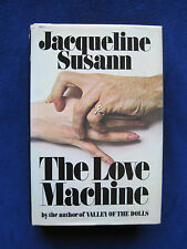 THE LOVE MACHINE - SIGNED by JACQUELINE SUSANN Basis of Classic Hollywood Film