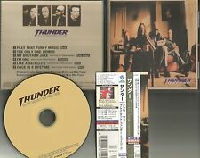 THUNDER Only One /Play w/ 4 RARE LIVE TRX JAPAN PRESS CD Single USA Seller