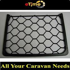 Australian RV BLACK ELASTIC STORAGE/MAGAZINE NET HOLDER 0140 CARAVANS MOTORHOME