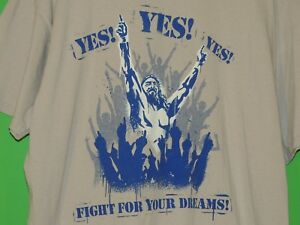 WWE Daniel Bryan Fight For Your Dreams Mens Size XL Extra Large YES T Shirt