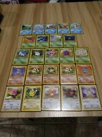 Pokemon Cards 1st Edition Non-Holo Jungle  LOT WotC NM- Mint 24 Never Played