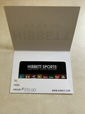 $50 Hibbett Sports Store Gift Card New Ready To Use Will Be Mailed