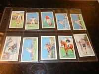 1934 Gallaher CHAMPIONS sporting sports set 48 cards Tobacco Cigarette lot