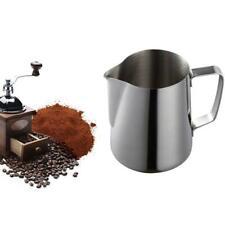 Barista Milk Coffee Pitcher Latte Espresso Frothing Jug Pot Tank Stainless Steel