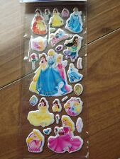 Princess Stickers..Set of 5.For party bags