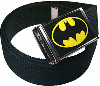 Batman Belt Buckle Bottle Opener Adjustable Web Belt