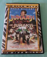 "Jumanji (DVD, 2000, Collector's & Widescreen Editions) ""A Thrilling Adventure!"""