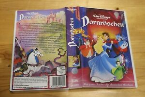 VHS Video Kassette Dornröschen Walt Disney Zeichentrick Trickfilm Film 71 Min