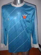 East Germany L/S DDR ADIDAS M BNIB Vintage Football Soccer Shirt Jersey Trikot