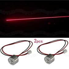 2pcs High quality Real 100mW 650nm red laser diode modul No Driver