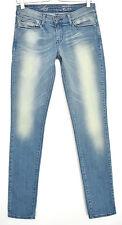 Levis SKINNY Demi Curve LIGHT BLUE Low Rise Stretch Jeans Size 8 W27 L34