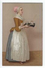 Vintage Advertising Postcard, Walter Baker & Co., Ltd., Chokoladenmadchen
