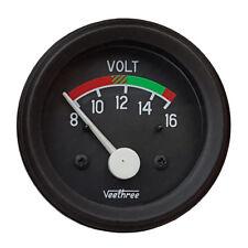 Universal Voltmeter 8-16V, Ø 52 mm - Batterieanzeige, Spannungsanzeige