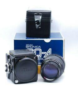 Bronica SQ-A Camera Body W/ Zenzanon MC f/3.5 150mm Lens
